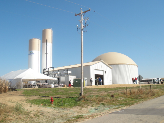 montchevre cheese factory digester