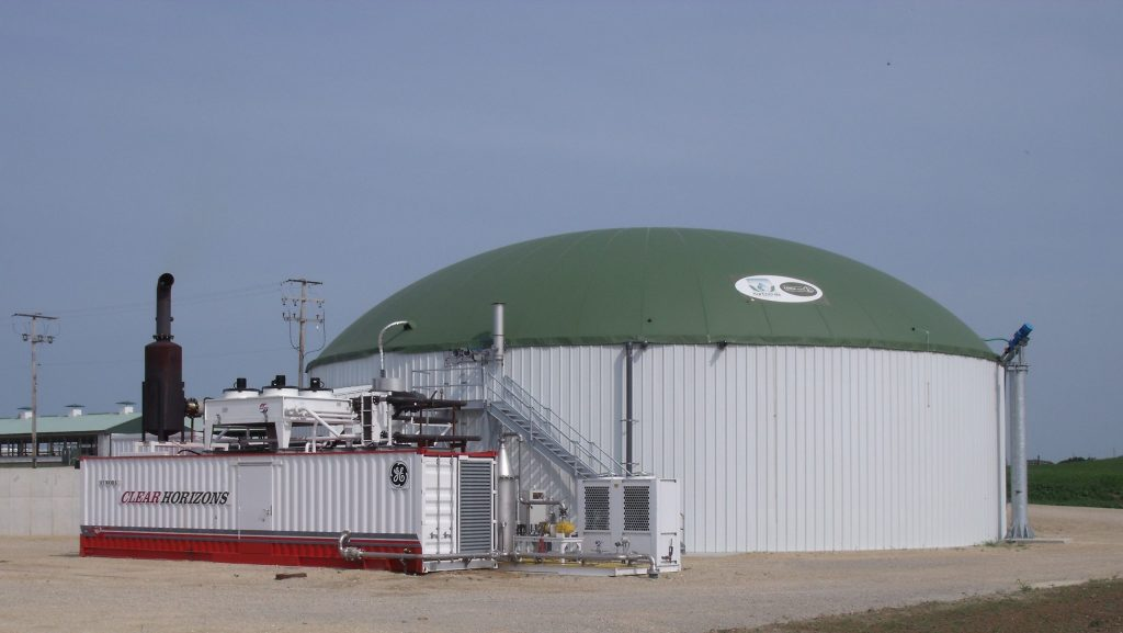 Crave brothers manure digester