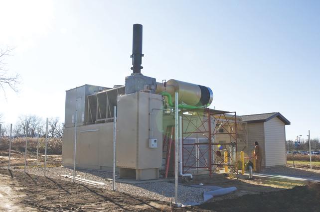 Gundersen Health System's landfill natural gas system
