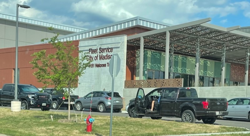 picture of Fleet Service, City of Madison building